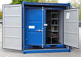 Steel Storage Container Advantages & Steel Storage Containers Sales and Rentals | Steel Storage Container Co.